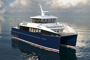 Incat Crowther to Design 79-ft Cat Passenger Ferry