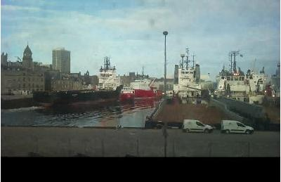 VIDEO: Two offshore vessels collided in Aberdeen