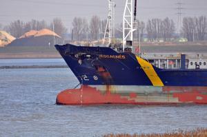 MSC Ship in Collision near Antwerp