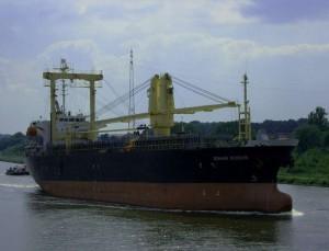 Endonasian ship Sinar Kudus pirated