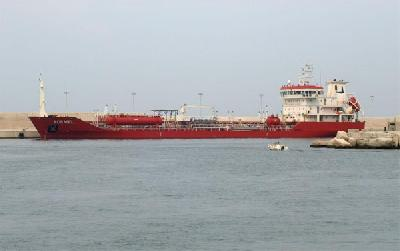 Two arrested for ship terror 'strike'