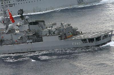 Turkish navy to help enforce Libya embargo