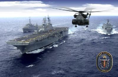 US sends three warships to Libya
