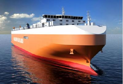 (VIDEO) Largest ro-ro vessel ever built is launched