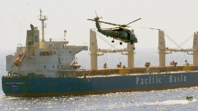 Citadel saved Philippinese bulk carrier crew from hijack