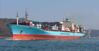 Maersk deploys geared 4,500-TEU ship for west Africa string