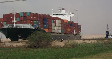 VIDEO ZIM Shekou blocked Suez Canal