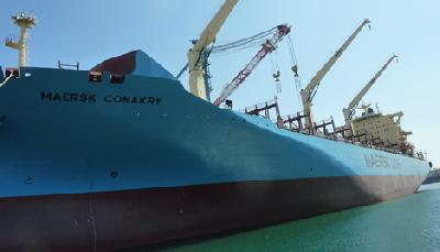 Maersk Line with new type of container carriers