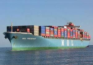 Global container shipping industry flourishing
