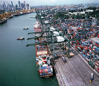 Singapore's role as transshipment port at risk from Belt and Road