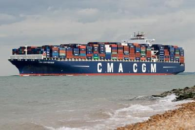 CMA CGM receives first of two 11,300-TEUers for Far East-Europe loop