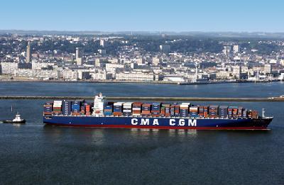 "CMA CGM receives ""TITAN"""