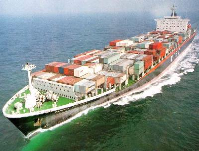 Container ship charter rates slide, reversing uptick in February