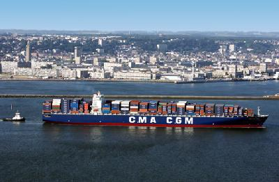 CMA CGM to raise Asia-north Europe rates US$225/TEU from June 1