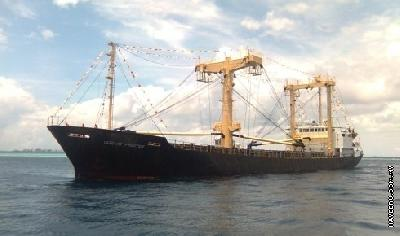 Maldivians hijack cargo ship after owner failed to pay for two years