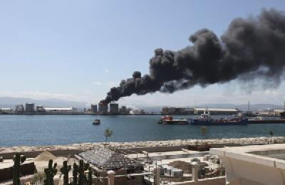 Explosion in Gibraltar, near the Independence of the Seas