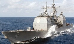 Russia angry as US cruiser Monterey enters Black Sea