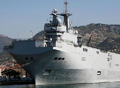Russia and France Sign Mistral Contract