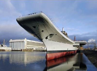 Russia and India Agree to Start Sea Trials of Aircraft Carrier INS Vikramaditya