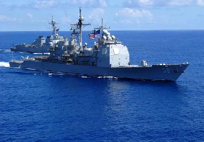 U.S. Navy Sailors Rescue Crew Members of Liberian-Flagged Tanker