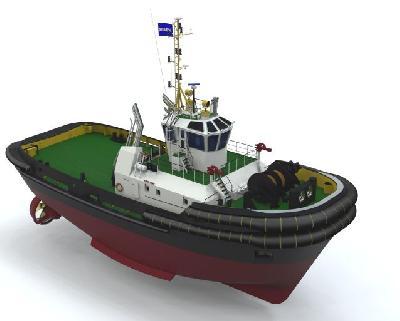 Netherlands: Damen Shipyards Reach Important Milestone in Tug Development