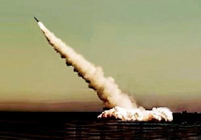 Russia Tests Sineva Submarine Launched Ballistic Missile