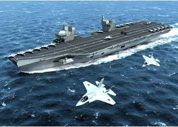 Scottish Shipbuilders Welcome Government Plan for Two New Multi-Billion Pound Aircraft Carriers