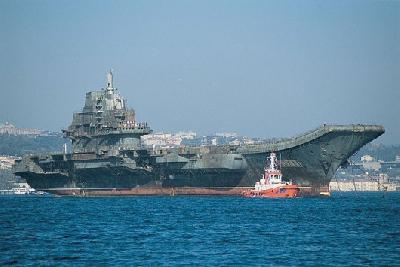 China's First Aircraft Carrier Holds its Sea Trial