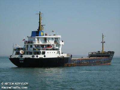 SUN S went aground in Dardanelles