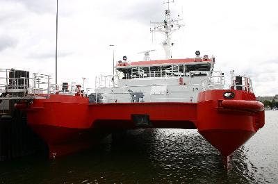 Swath Pilot Boat WIELINGEN handed over to the Belgian Pilots