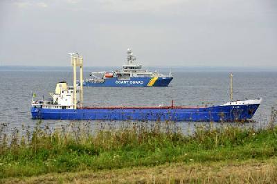 Drunken Latvian captain ran ship aground