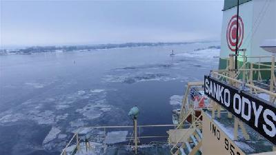 More ships take shortcut via less icy Arctic