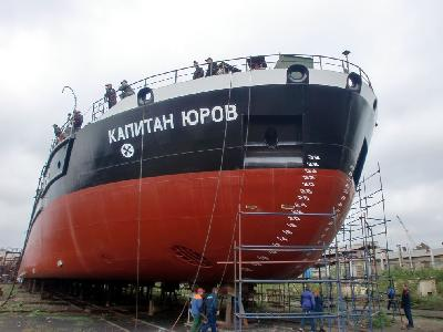 Russia: Okskaya Shipyard Launches Eight Vessel Out of 10 Multipurpose Bulk Carriers