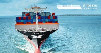 ER Schiffahrt christens its first two 13,100-TEU ships in Korea