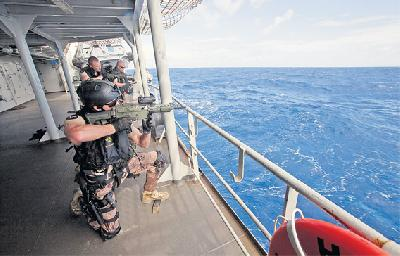 Ship Insurers Offers Discount for Armed Guards on Ship