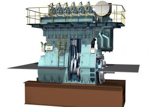 Slow steaming: New Wartsila X35 low-speed engine in Zhuhai tests