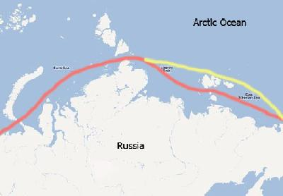 Record Number of Vessels in Transit on Northern Sea Route