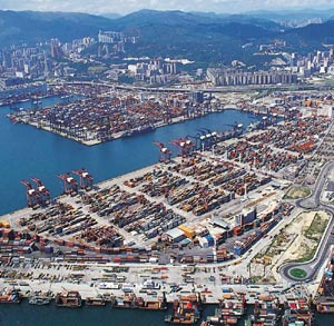 Port of Hong Kong third quarter volume rises 2pc to 6.4 million TEU