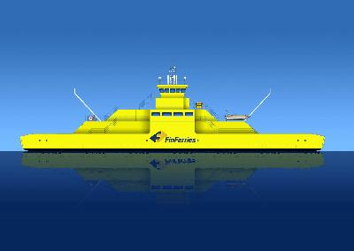 STX Finland Starts Construction of Double Ended Ferry