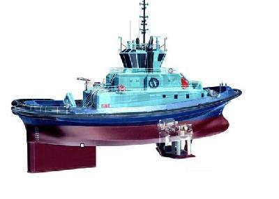 Germany: 70 Ton Bollard Pull Tug Gets Voith Propulsion System
