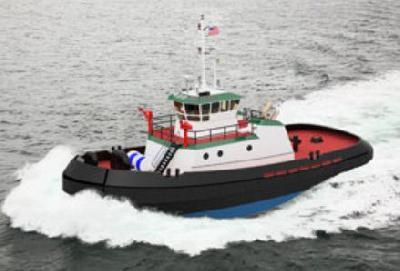 USA: Jensen Maritime Starts Design Work on Two 50 Ton Bollard Pull ASD Tugboats