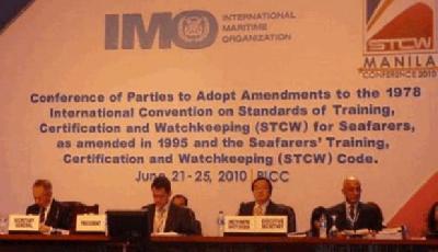 STCW Manila Seafarer Training Amendments Enter into Force on 1 January 2012
