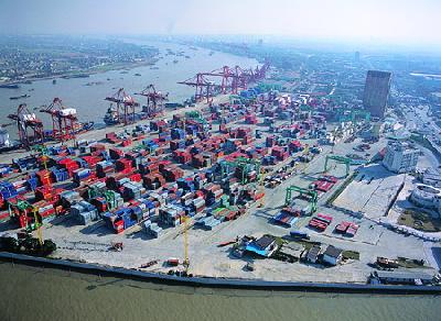 Shanghai and Ningbo's container foreign trade growth slows to 3.3pc