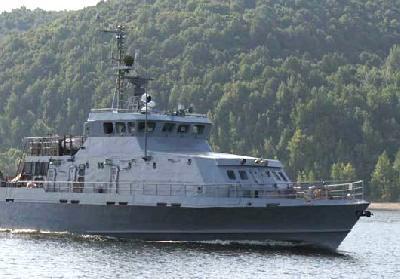 Russian Navy Receives Grachonok Anti-Terror Boat