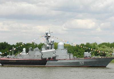 Zvezdochka Shipyard Delivers New Small-Size Gunnery Ship to Caspian Flotilla