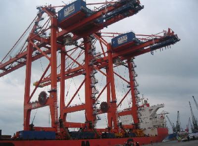 Turkey: PSA Mersin Port Receives Two STS Gantry Crane from ZPMC