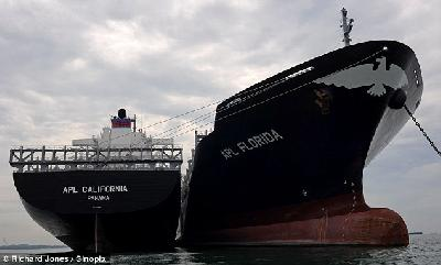 Idle containerships number 246, totalling 595,000 TEU as 2012 begins
