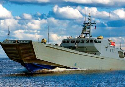 Russia: Yaroslavl Shipyard Holds Keel-Laying Ceremony for Landing Boat