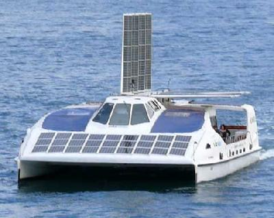 Solar powered ferry comes to carry Hong Kong Jockey Club golfers