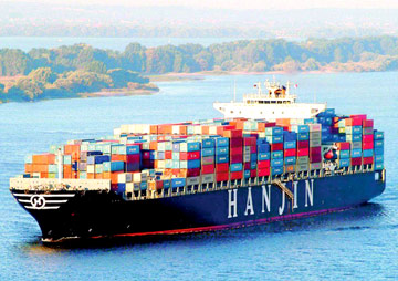 Hanjin Shipping increases Asia-Europe rates US$700/TEU from March 1